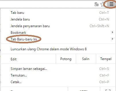Cara Mengembalikan Sesi Terakhir pada Google Chrome 1