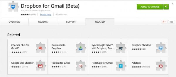 Mengirim File lebih besar denga Dropbox for gmail 1