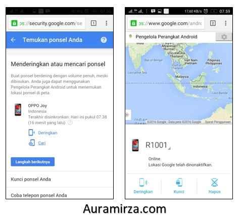 Cara Melacak Hp Yang Hilang Dengan Akun Google Sociotekno